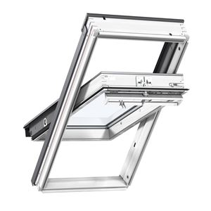 Picture of Velux Centre Pivot Roof Window White Painted114x118 Toughened Outer Pane Laminated InnerSK06