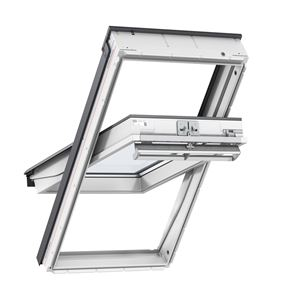Picture of Velux Centre Pivot Roof White Polyurethane114x118 Toughened Outer Pane SK06