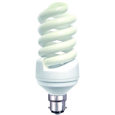 Picture of 05006 25W BC SPIRAL CFL