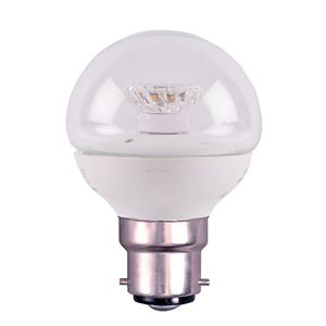 Picture of 4W BC LED CLEAR GOLF BALL 2700K NON DIMMABLE