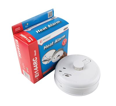 Picture of Heat Alarm with Battery Back Up SUITABLE FOR KITCHENS