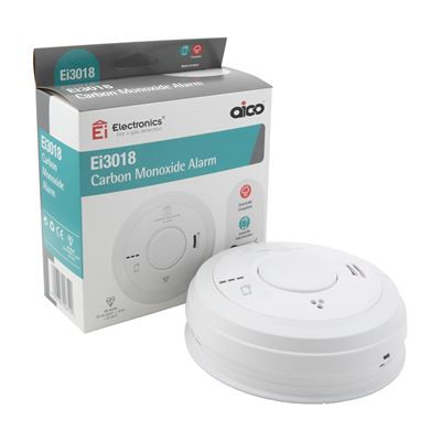 Picture of Carbon Monoxide Alarm 230v 10year Lith Batt Iinterlinkable with EI 141/144