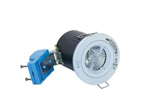 Picture of White Fixed Fire Rated Downlight FD-103