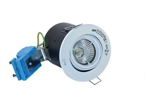 Picture of White Tilt Fire Rated Downlight FD-109