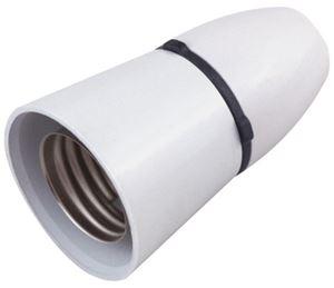 Picture of ES LAMP HOLDER white plastic