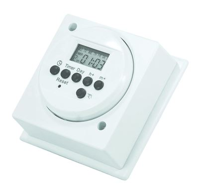 Picture of DIGITAL IMMERSION HEATER TIMER 2A 500W MAX LOAD 42 ON/OFF PROGRAMS