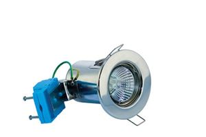 Picture of Polished Chrome Fixed Fire Rated Downlight