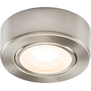 Picture of CABINET LIGHT WARM WHITE 2W LED BRUSHED CHR NO DRIVER REQUIRED