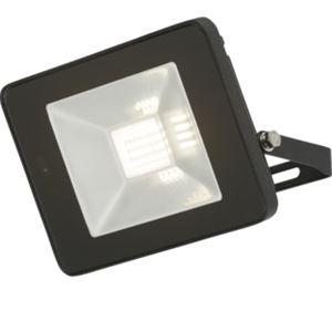 Picture of 20W LED FLOOD BLACK  C/W BUILT IN MICROWAVE SENSOR 180DEG H:126MM W:180MM P:30MM KNIGHTSBRIDGE