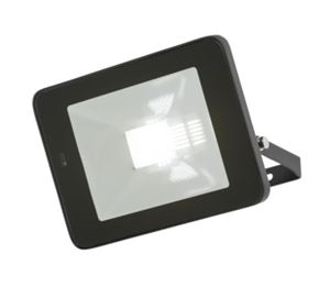 Picture of 20W LED FLOOD LIGHT BLACK C/W BUILT IN MICROWAVE SENSOR 180DEG