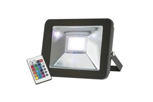 Picture of 30W COLOUR CHANGING LED FLOOD LIGHT 6800LM H:147MM W:37MM L:210MM P:95MM KNIGHTSBRIDGE