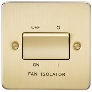 Picture of 1 FAN ISOLATOR SWITCH  FLAT PLATE