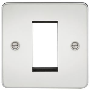 Picture of 1 GANG EURO MODULAR GRID PLATE