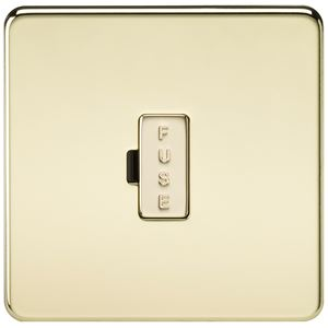 Picture of UNSWITCHED SPUR  SCREWLESS FLAT PLATE POLISHED BRASS