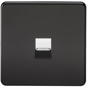 Picture of 1 GANG BT MASTER SCREWLESS FLAT PLATE