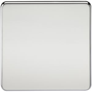 Picture of 1 GANG BLANK PLATE  SCREWLESS FLAT PLATE