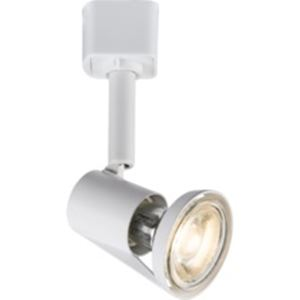 Picture of WHITE ROUND GU10 TRACK SPOT LIGHT MAINS TRACK