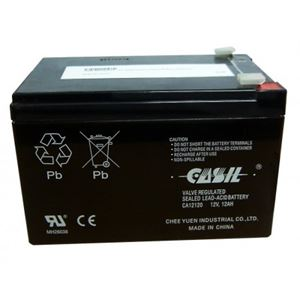 Picture of 12AH 12V ALARM BATTERY
