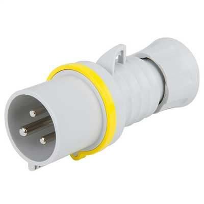 Picture of 32amp 2P + Earth Plug 110v
