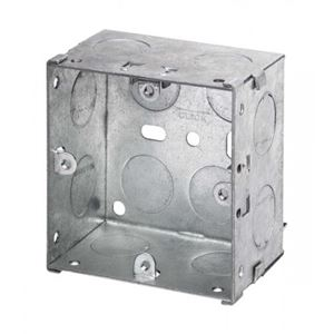 Picture of 1gang 35mm Metal Socket Box