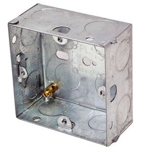 Picture of 1gang 25mm Metal Socket Box