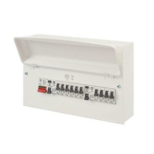 Picture of 10way Loaded Board c/w 10MCBS 2RCD