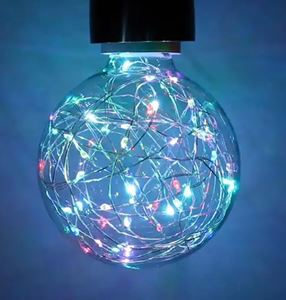 Picture of 1.7W COLOUR CHANGING LED FUNKY FILAMENT GLOBE 1.7W ES