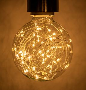 Picture of 1.7W WARM WHITE LED FUNKY FILAMENT GLOBE 1.7W ES