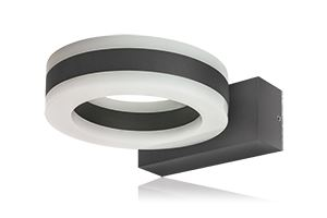 Picture of CICLO  IP54 11W 3000K 480 LUM DARK GREY 140 X 177 X 54 OUTDOOR FITTING INTEGRAL