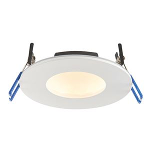Picture of ORBITALPRO 9W IP65 DIMMABLE LED DOWNLIGHT MATT WHITE/ ADJUSTABLE COLOUR 3000K & 5000K 97MM CUT OUT OVERALL DIA 110MM