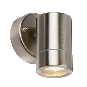 Picture of 13801  Single Wall Light S/steel 1x35w GU10 IP65  UP/ONLY