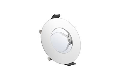 Picture of EVOFIRE INTEGRAL FIRE RATED DOWNLIGHT  PC GU10 IP65 70MM CUT OUT 3YR WARRANTY INTEGRAL