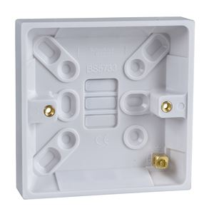 Picture of 16mm Switch Box Surface MountGPAT1G16