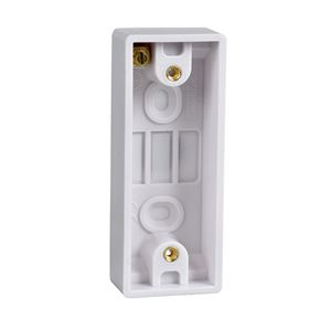 Picture of 1gang 16mm Architrave Surface Boxwhite plastic