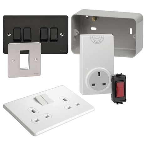 Picture for category GRID SWITCHES & PLATES