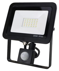 Picture of 20W LED FLOOD C/W PIR