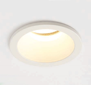 Picture of SLIM TRIM GU10 IP65 DOWNLIGHT DIECAST MATT WHITE  70MM CUT OUT 44MM DEPTH PROJECT COLLECTION/SEARCHLIGHT