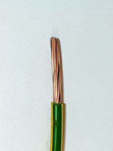 Picture of Cable Singles Stranded 2.5mm Green/ Yellow 6491x