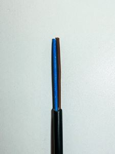 Picture of Cable 2core 0.75mm Flex Black 3182y