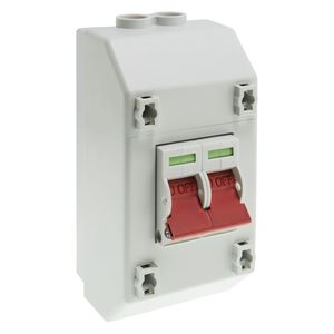 Picture of 100A 2 POLE SUPPLY ISOLATOR