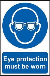 Picture of Eye Protection Must Be Worn