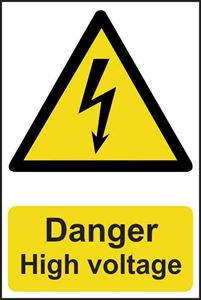Picture of Danger Hign Voltage