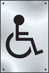 Picture of Disabled Wc Graphic
