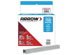 Picture of Arrow T50 Staples 6mm box 1250