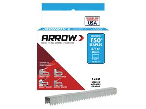 Picture of Arrow T50 Staples 8mm box 1250