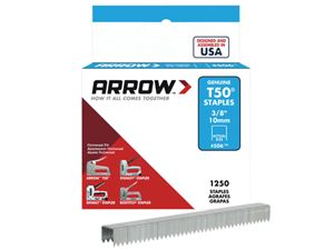 Picture of Arrow T50 Staples 10mm box 1250
