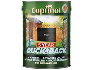 Picture of Cuprinol 5year Ducksback Autumn Black 5ltr