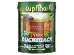 Picture of Cuprinol 5year Ducksback Rich cedar 5ltr