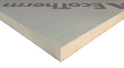 Picture of 1200x2440  50mm Ecotherm/IKO PIR BoardQuin/RectacellPitch Roof Insulation