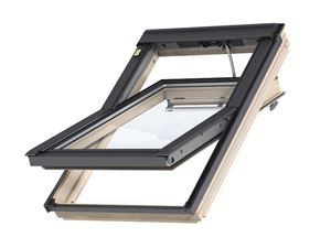Picture of Velux Centre Pivot Roof Window White Painted INTEGRA ELECTRIC55x78 Toughened Outer Pane Laminated InnerCK02